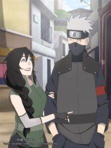 Hanare with Kakashi