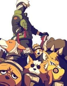 kakashi and his dogs