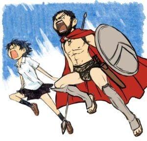 300 sparta anime