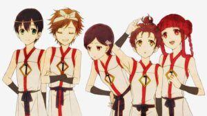 Aonuma Shun, Asahina Satoru, Watanabe Saki, Itou Mamoru & Akizuki Maria