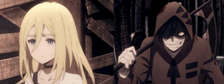 angels of death anime zack and ray satsuriku no tenshi best anime series