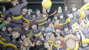 assassination classroom anime