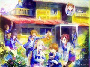 bold-will-to-dream-the-pet-girl-of-sakurasou-february-2020-owls-tour-one-big-happy-family-boys-girls-woman-cats-painting-mashiro-sorata-nanami-ryuunosuke-rita-misaki-jin-chihiro