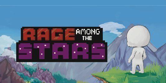 Rage Among The Stars: brutally tough easy 2D platformer