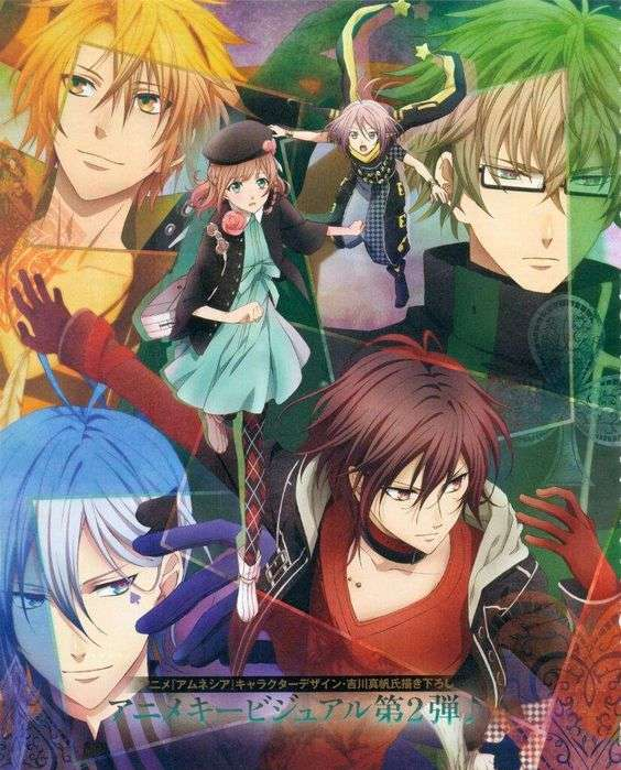 amnesia anime bishounen anime