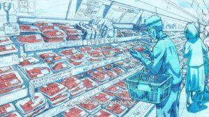 kengan-ashura-kazuo-yamashita-buying-meat-at-the-store