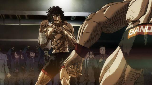 kengan-ashura-ouma-tokita-jun-sekibayashi-anime-guys-getting-ready-to-fight