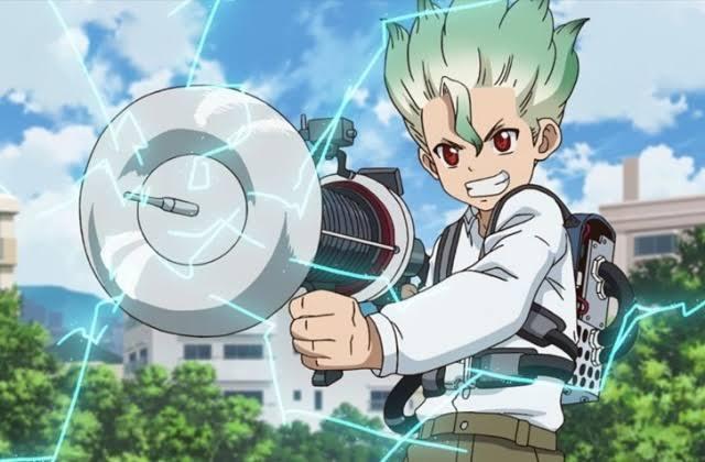 animes-similar-or-like-dr-stone-senkuu-anime-boy-with-electric-ray-gun