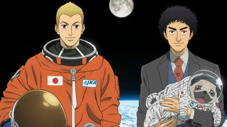 space-brothers-uchuu-kyoudai-nanba-mutta-nanba-hibito-apo-all-three-in-space-two-spacesuits-regular-suit