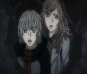 gilgamesh-the-anime-ending-what-actually-happened Tatsuya Madoka Kiyoko Madoka looking surprised