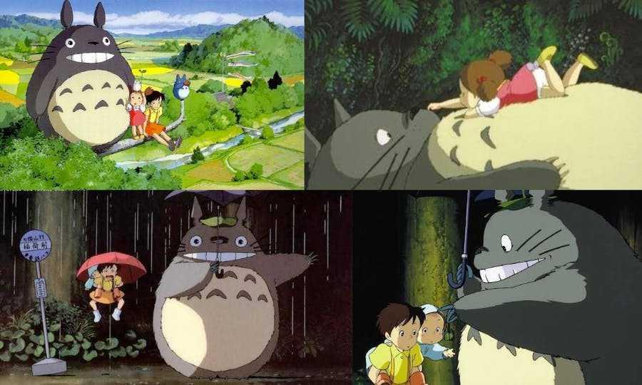 Totoro from My Neighbor Totorob-ghibli