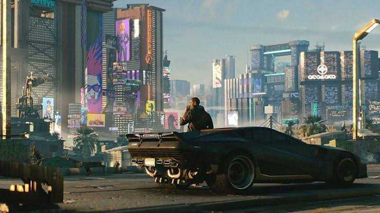 Cyberpunk 2077 nightcity day time