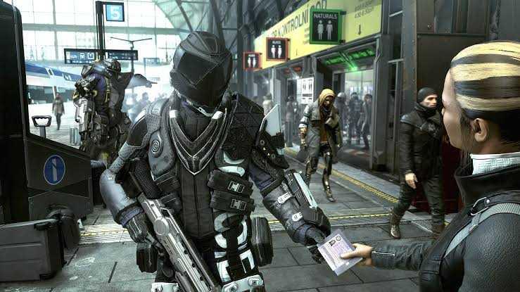 Deus Ex Mankind Divided Gameplay