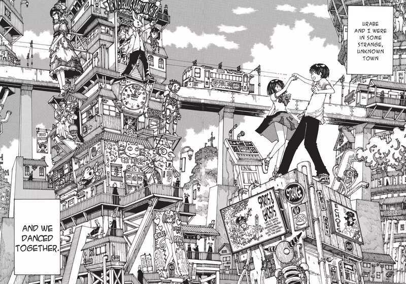 Mysterious Girlfriend X Mikoto Urabe Akira Tsubaki dancing in a dream strange dream town