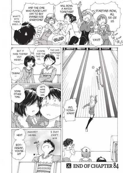 Mysterious Girlfriend X Mikoto Urabe Akira Tsubaki getting him flustered