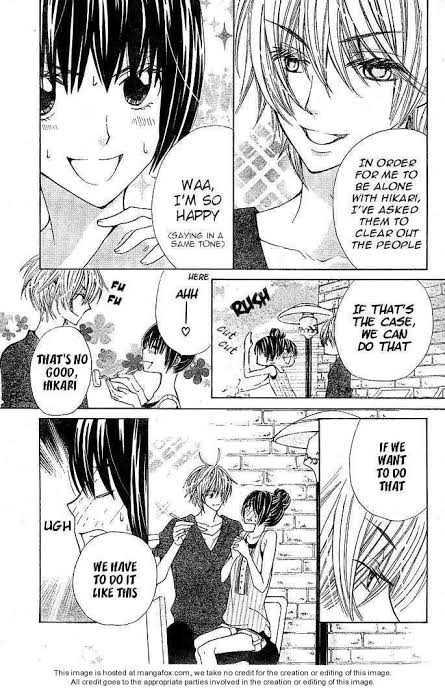 Special A manga Kei Takishima Hikari Hanazono
