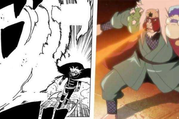 Fire Release Techniques Boruto Naruto Next Generations Kashin Koji Jiraiya