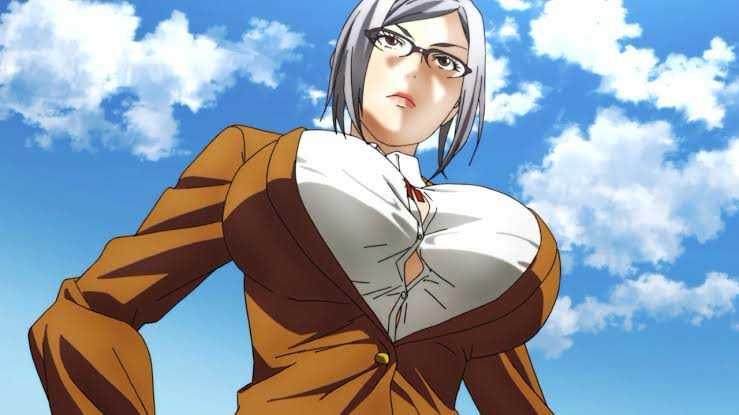 Meiko Shiraki from Prison School Top 25 Busty Female Anime Characters