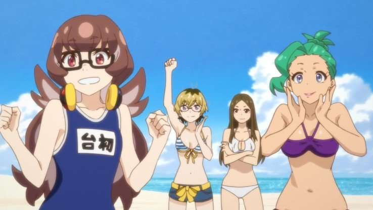 punch line anime fanservice ito rabura meika