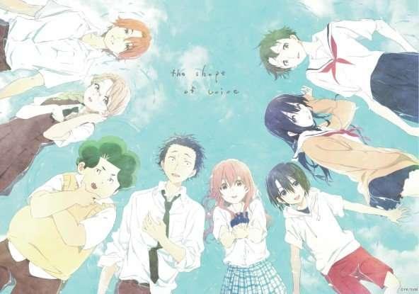 koe no katachi-a-silent-voice- Shouko-Nishimiya-Shouya-Ishida-and-friends