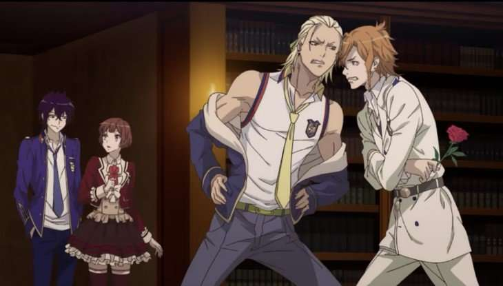 Dance with Devils some of the cast