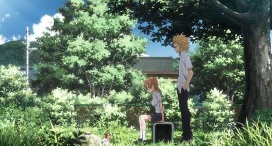 Gleipnir-Episode-12-Kaito-found-Honoka-visiting-Aikos-grave-sad