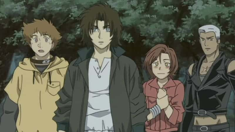 Wolf's Rain-Hige-Kiba-Toboe-Tsume-bishounen-anime