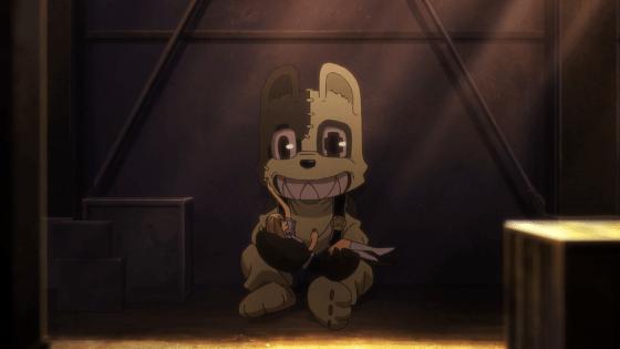 gleipnir-anime-characters-review-shuuichi-mascot-monster-clair-moments