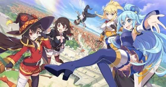 KonoSuba God's Blessing on This Wonderful World! main cast