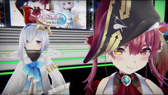 hololive Cinderella Switch VR Concert Volume 1 kanata marine
