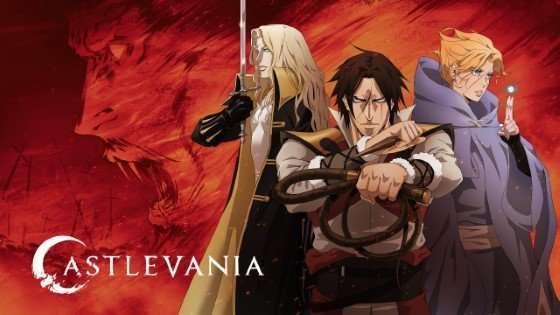 Castlevania main cast best vampire anime