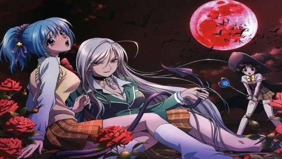 Rosario + Vampire (Rosario to Vampire) best vampire anime rosario-succubus-vampire-witch