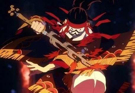 Demon Slayer Kimetsu no Yaiba Tanjiros-father-Dance-of-the-fire-god
