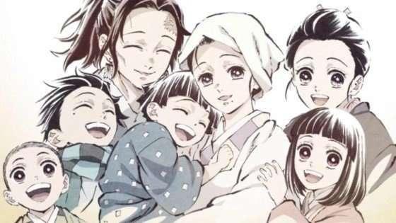 Demon Slayer Kimetsu no Yaiba some of the kamado family Kamado-Family